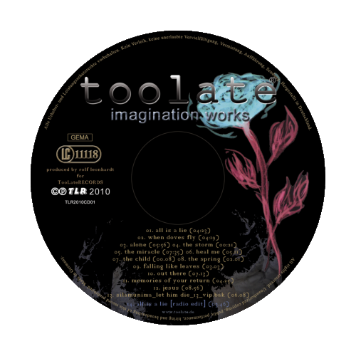 TooLate Imagination Works Label