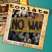 TooLate Back to Baghdad 2010 Cover